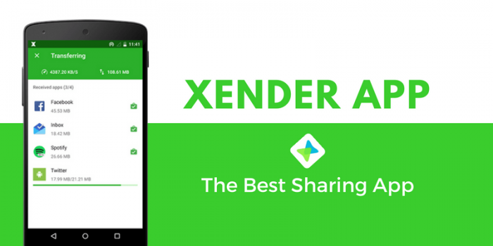 Xender for PC Using Andyroid